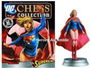 DC Chess Figurine Collection #37 Supergirl White Pawn Justice League Eaglemoss